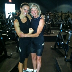 76 years old, cycling, running, and stronger than ever. This is how I want to feel when my great grandchildren are around.